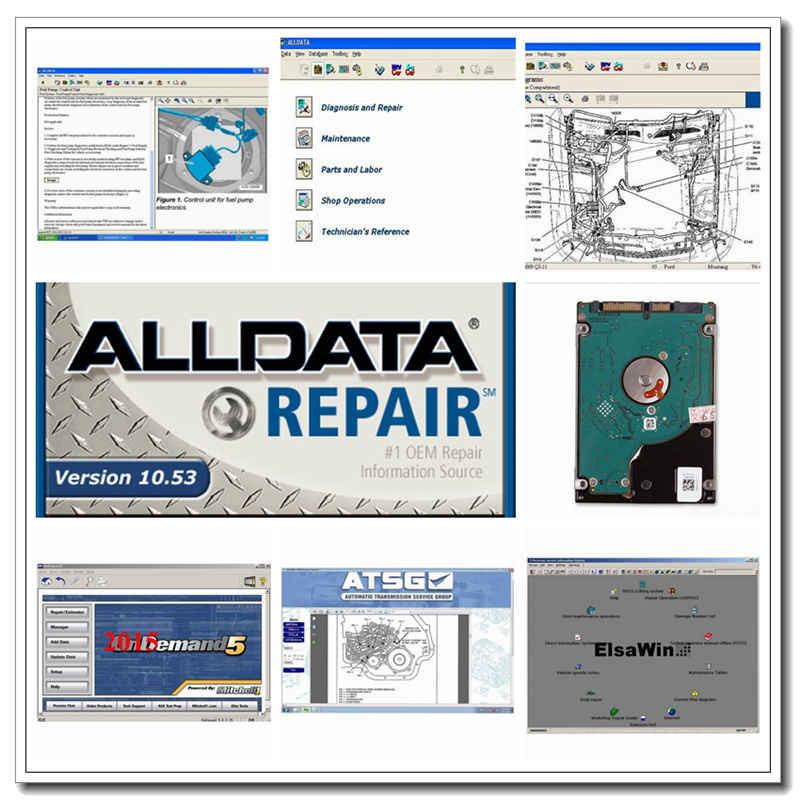 Программное обеспечение alldata 2020 все данные 10 53 программное mitchell on demand 17в1 1 ТБ hdd