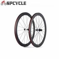 Spcycle UD Matte Carbon Road Bike Wheels DT350 Hubs 700C 50mm Clincher Racing Bicycle Wheelset 23mm Width 20/24 Hole