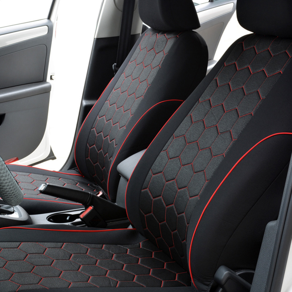 Universal Car seat covers For kia Soccer Ball Style Car Styling Auto ...