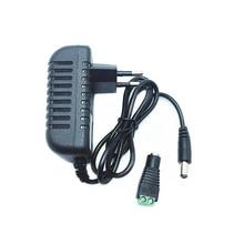 DC12V адаптер AC100-240V трансформаторы из положить DC12V 2A источник питания для светодиодной ленты+ разъем