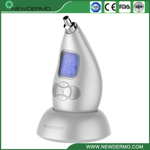 Image 5 - Argento NEWDERMO Pro Microdermoabrasione Personale Microderm Viso Dispositivo 3.7V Massaggio di Cura Della Pelle di Bellezza di TRASPORTO LIBERO
