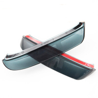 Blade Side View Mirror Rainproof Cover Sun Visor Shield For Honda CRV 2007 2011