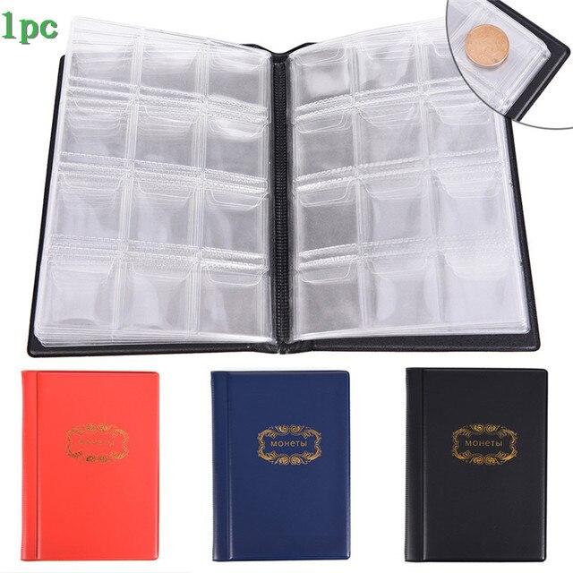 רוסית מטבע אלבום & תיקיית 60/120 מטבע אוסף מחזיקי אחסון אגורה כיסי גלרית ספר מקרה עבור מטבעות חמה