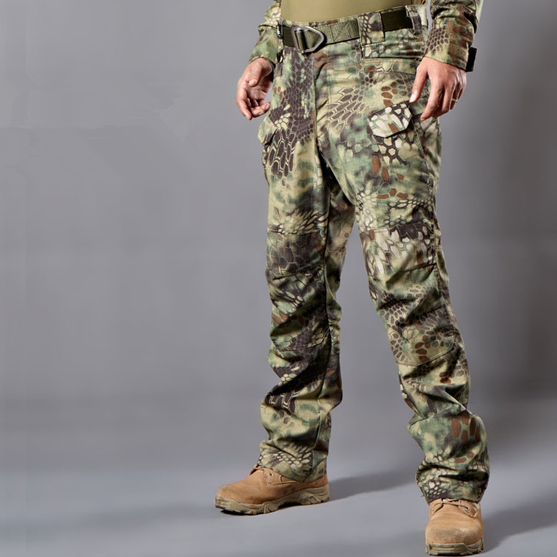 New Multicam Military out door Camouflage IX7 pants blind clothing tactical cargo pants army combat camouflage fatigues pants