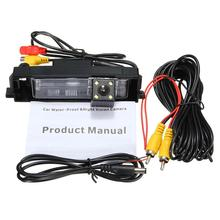 CCD Car Rear View Camera for 07 08 09 10 11 12 Toyota RAV4 Reverse Backup Review Parking Kit with Night Vision Free Shipping