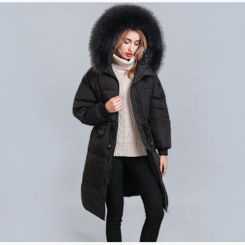 Winter Jacket Women New 2019 Fashion Coats Female Parka black Thick Cotton Padded Lining Ladies