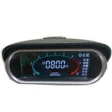 Tachometer Car Outboard Motor 12v 24v Excavator Boat Truck Tach tacometro Gauge RPM Hour Meter rpm Digital Sensor