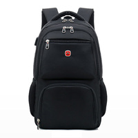 2017 New Swiss Military Army Multifunction Laptop Bag 16 Laptop Backpack External USB Charge Macbook Schoolbag