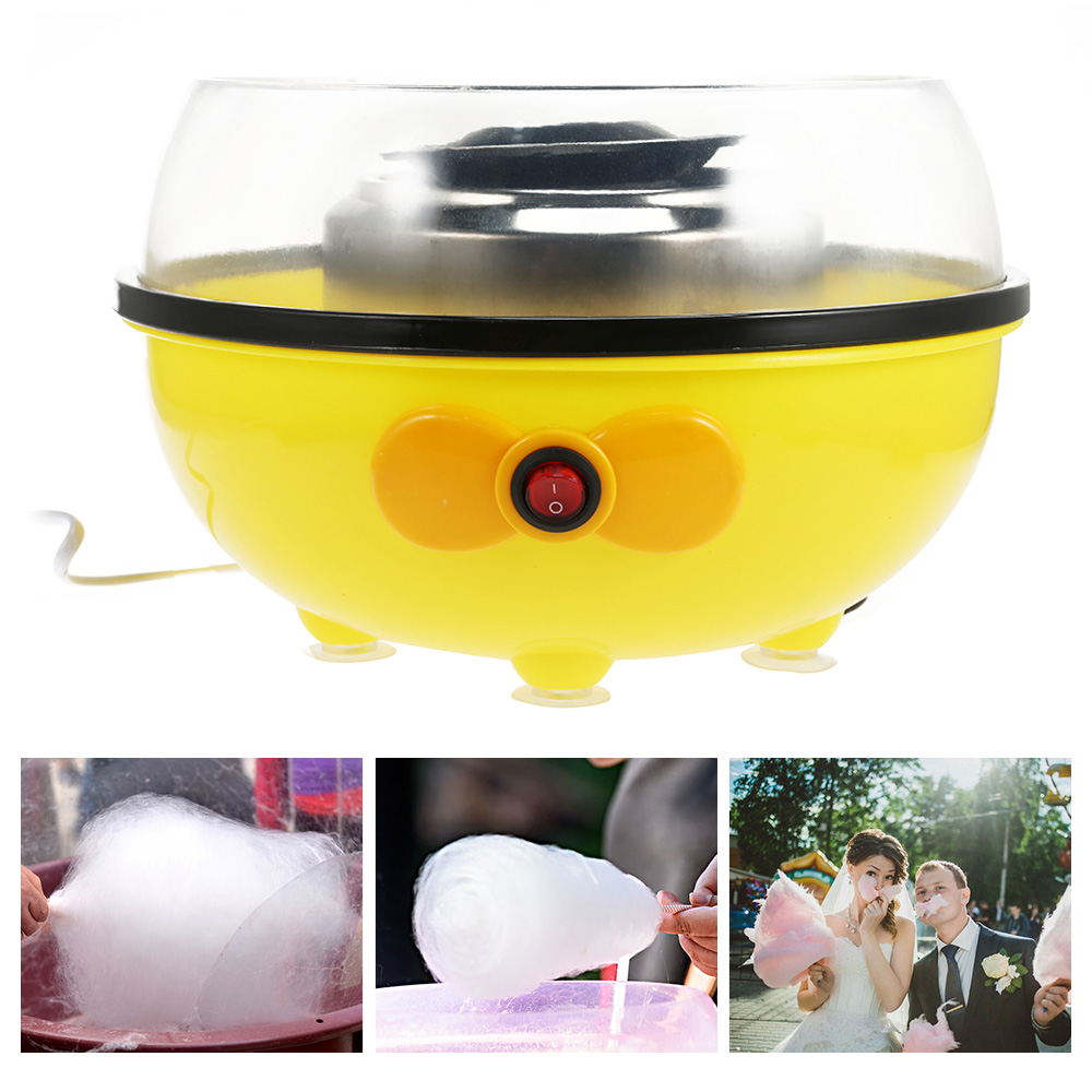 Portable Electric Food Processor Cotton Candy Maker Machine 450W Household Nostalgia Appliances For Kitchen Use
