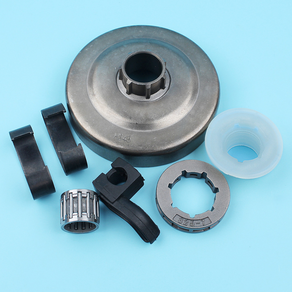".325"" Clutch Drum Spring Sprocket Oil Pump Needle Bearing Kit For Husqvarna 350 353 346XP 345 340 445 450 Chainsaw 503 87 30 72"