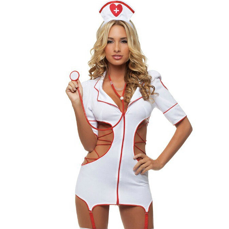 Babydolls & Chemises Confident Women Maid Nurse Lingerie Sexy Hot Erotic Dress Porn Cosplay Sexy Underwear Costumes Sleepwear Women Sexy Erotic Lingerie Hot