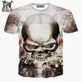 New casual tops tee harajuku summer 3d t shirts hip hop graphic print skull t-shirt  3d tshirt for men