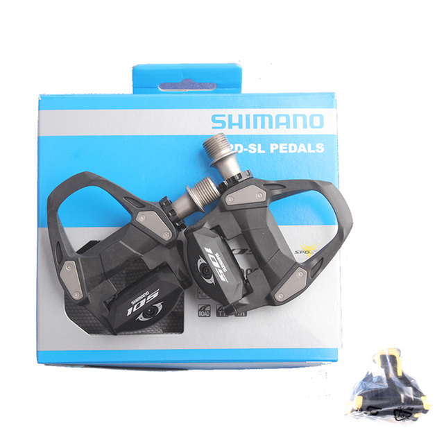 d7f89439aa0 SHIMANO 105 PD 5800 R7000 Self-Locking SPD Pedals with SH11 Cleats Bicycle  Racing Road Bike Accessories SPD Pedals