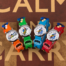 New 2019 Batman 3D Child Watch Kids Rubber Wristwatches Children Clock Boys Girl