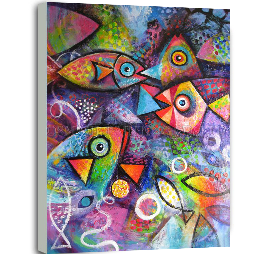 online get cheap fish painting artist aliexpress com alibaba group