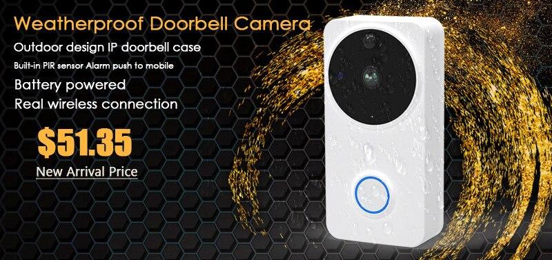 ctman new outdoor doorbell wifi