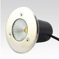 COB LED подземный светильник 15 Вт AC85-265V лампа с заземлением LED подземный свет теплый белый/красный/зеленый/синий