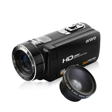 Ordro Z8 Home Use HD 1080P 24MP Digital Video Camera With Rotating Touch LCD Screen
