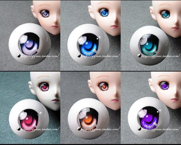 Dd bjd acrylic eyes cartoon series f 6   8 - - 26mm eyeball for 1/6 1/4 1/3 BJD diy accessory 1 3 1 4 1 6 1 8 1 12 bjd wigs fashion light gray fur wig bjd sd short wig for diy dollfie