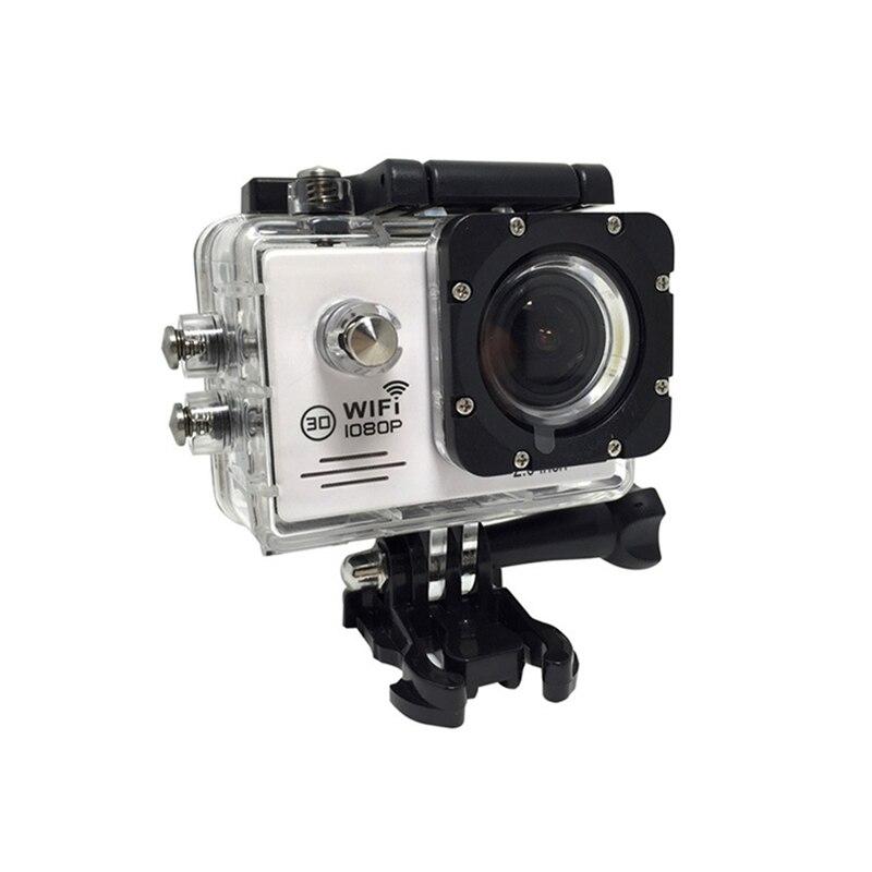 Caméra d'action Wifi pour Go Pro 170 degrés caméra Sport grand Angle 1080 P HD 30 m étanche Sport Camrea