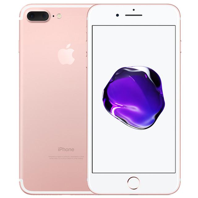 "Original Apple iPhone 7 Plus 32G/128G/256G Fingerprint 4G Cellphone Unlocked 5.5"" 12.0MP LTE Mobile phone 3G RAM ROM Quad-core"