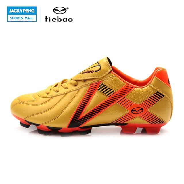 9a201233c4 TIEBAO Profissionais Unhas Sapatos De Futebol Ao Ar Livre dos homens Ao Ar  Livre Chuteiras de