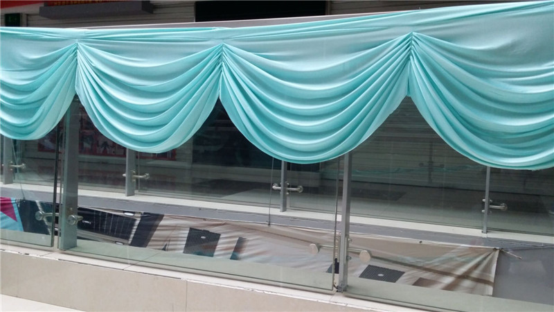 Free Shipping Cheap Price Wedding Party Decoration Curtain