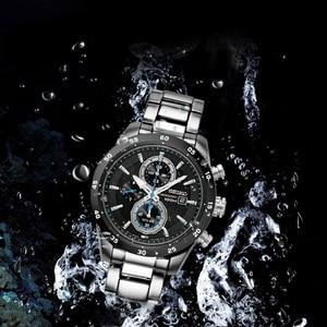 Image 4 - 100% Original SEIKO Solar Uhr Mode Trend Business Timing Quarz herren Uhr SSC531J1