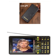 Touch Screen Big Keyboard Mobile Phone Analog TV Long Time S