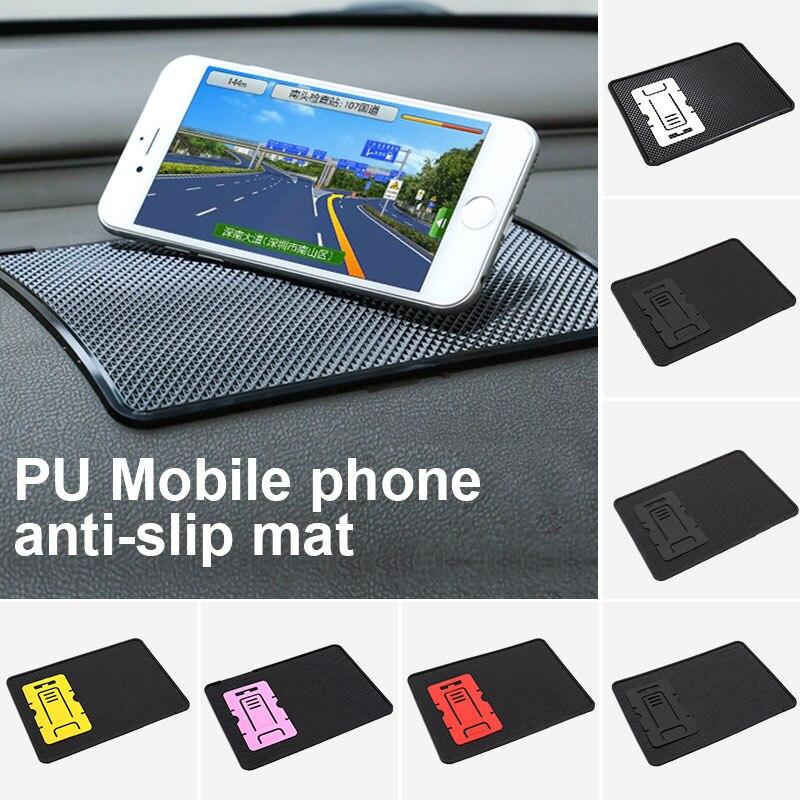 Нескользящие коврики автомобили Универсальный мобильный телефон колодки приборной панели Противоскользящие коврики Sticky автомобильные