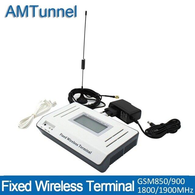 Gsm thiết bị đầu cuối Điện Thoại fixe bike sans fil Cố Định không dây thiết bị đầu cuối Quad band GSM TỔNG ĐÀI cho GSM máy tính để bàn điện thoại PBX
