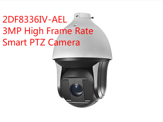 free shipping english version ds 2df8336iv ael 3mp high frame rate smart ptz camera