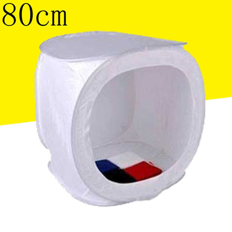 ФОТО 32x32 inch/80cm x80 cm Photo Studio Shooting Tent Light Cube Diffusion Soft Box Kit with 4 Colors Backdrops  for Photography