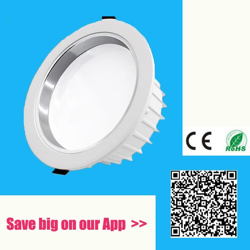 Süllyesztett LED-es világítás tompítható 3W 5W 7W 9W 12W 15W - Beltéri világítás