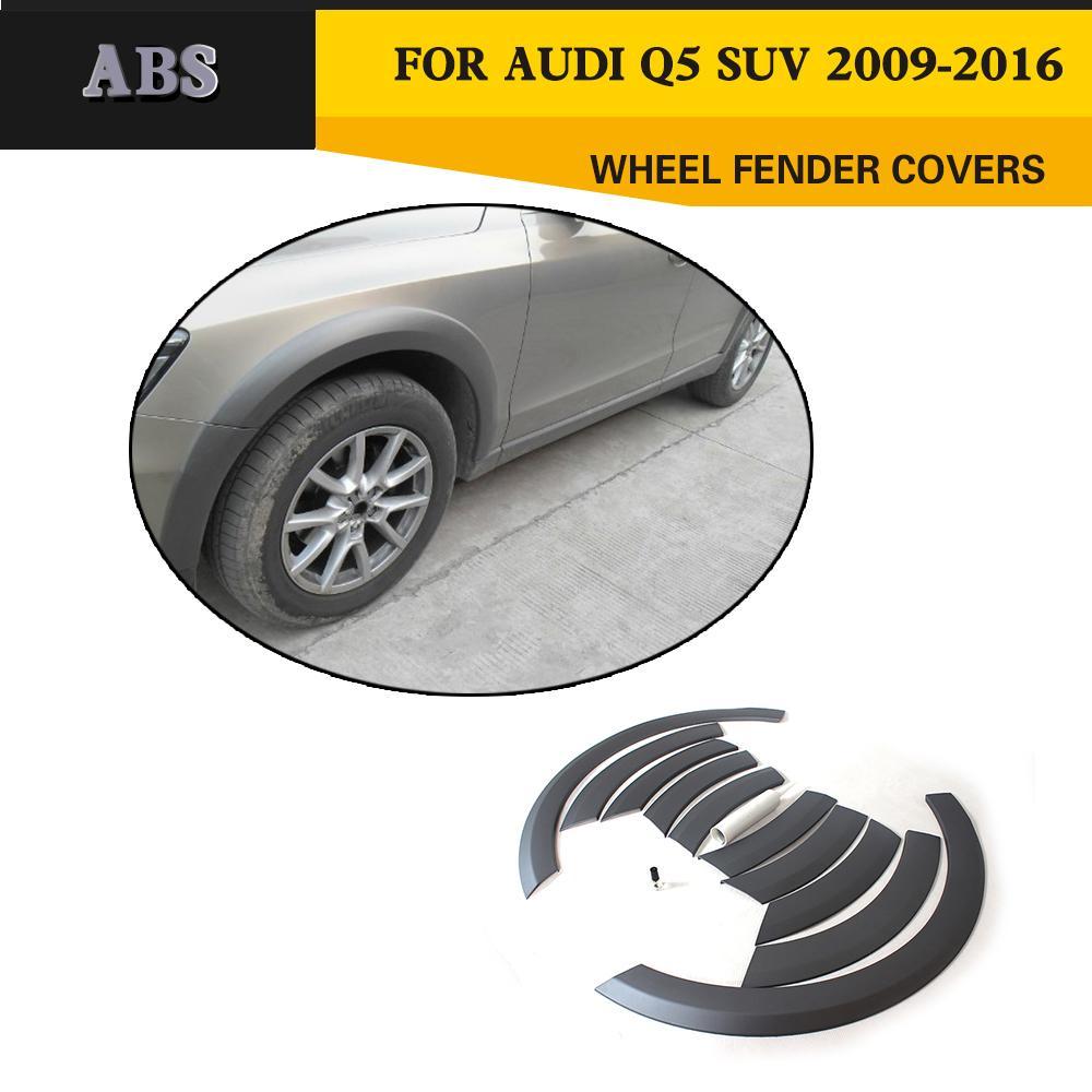 PP Body Wheel Arch fender Wheel Arch Eyebrows For Audi Q5 Standard Bumper 2009 2013