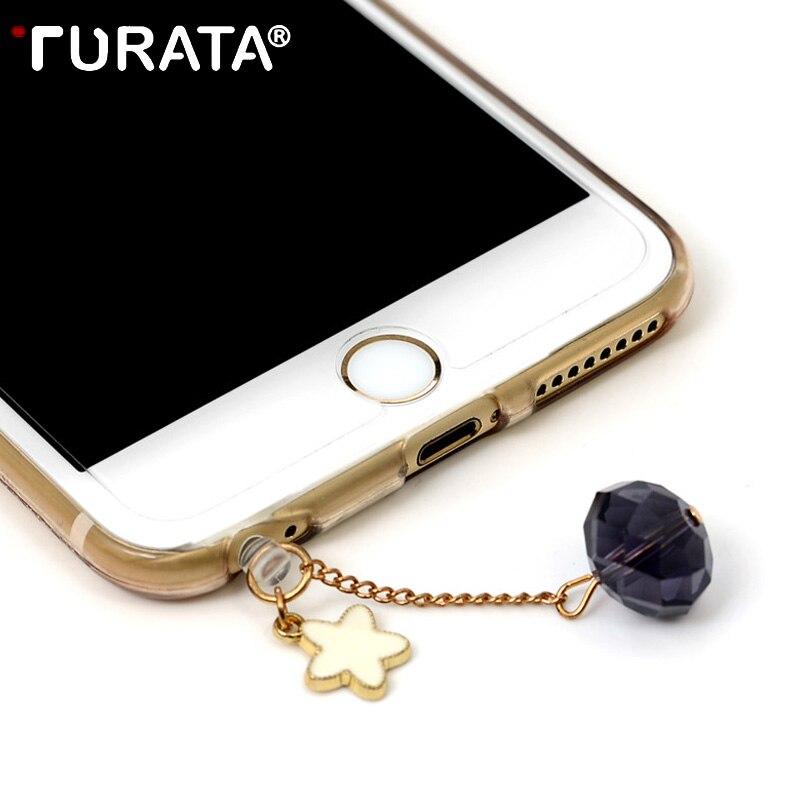 TURATA Universal Anti Dust Plug 3.5mm Audio Earphone Jack Mobile Phone Dustproof Phone Gadgets Mobile Phone Accessories