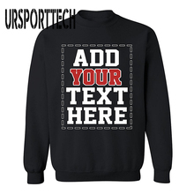 купить URSPORTTECH Brand Customized with Own Logo SWEATSHIRT Cool DESIGN YOUR OWN Sweatshirts for Men & Women по цене 1499.97 рублей