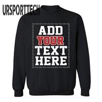 URSPORTTECH Brand Customized with Own Logo SWEATSHIRT Cool DESIGN YOUR OWN Sweatshirts for Men & Women