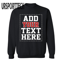 URSPORTTECH Brand Customized With Own Logo SWEATSHIRT Cool DESIGN YOUR OWN Sweatshirts For Men Women