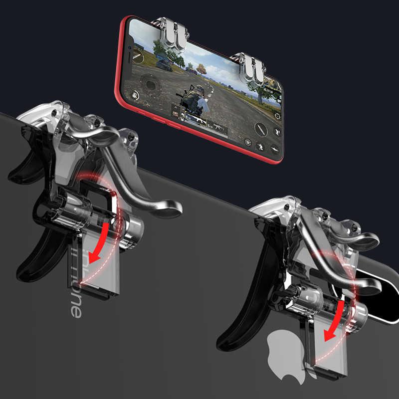 Контроллер Pubg мобильный L1r1 геймпад джойстик триггера для Сотовая связь смартфон Сотовый L1 R1 шутер огонь Кнопка игровой iPhone