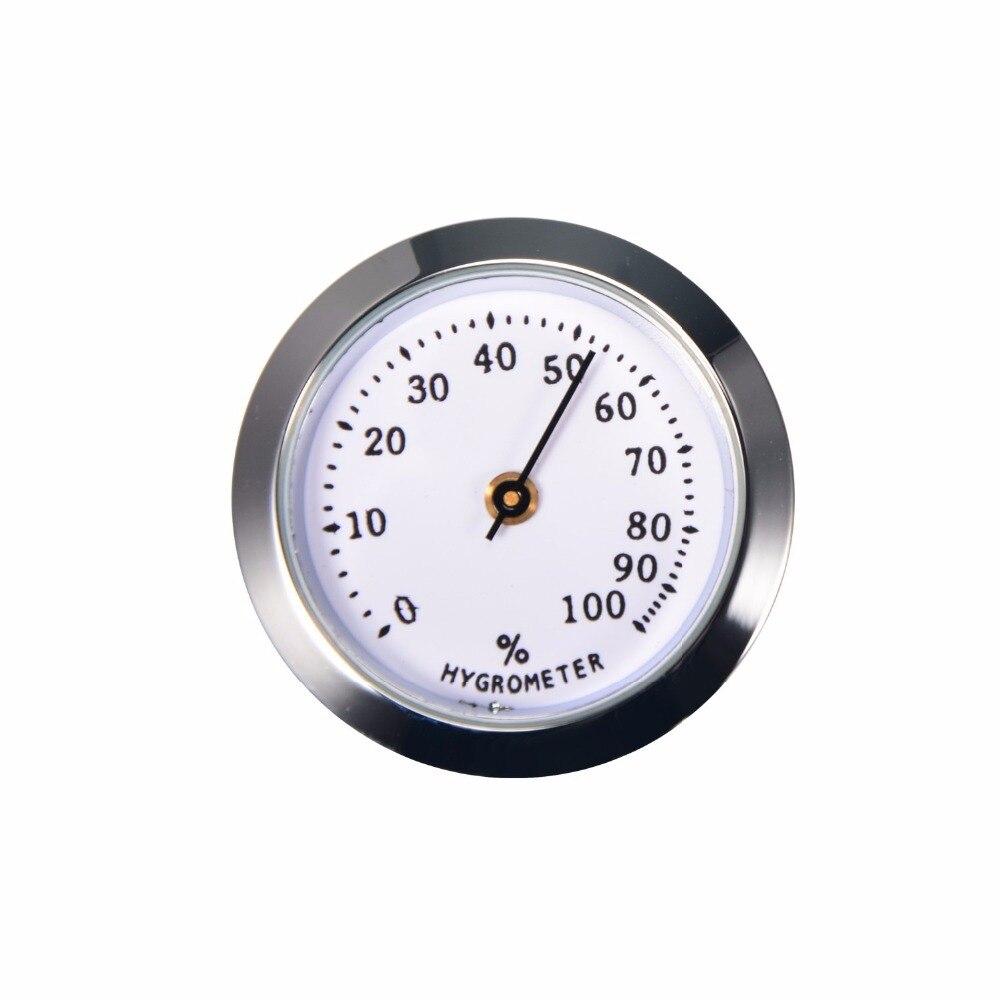 New 1pcs Cigar Humidor Hygrometer Humidity Analog Monitor 2.8cm and 3.6cm