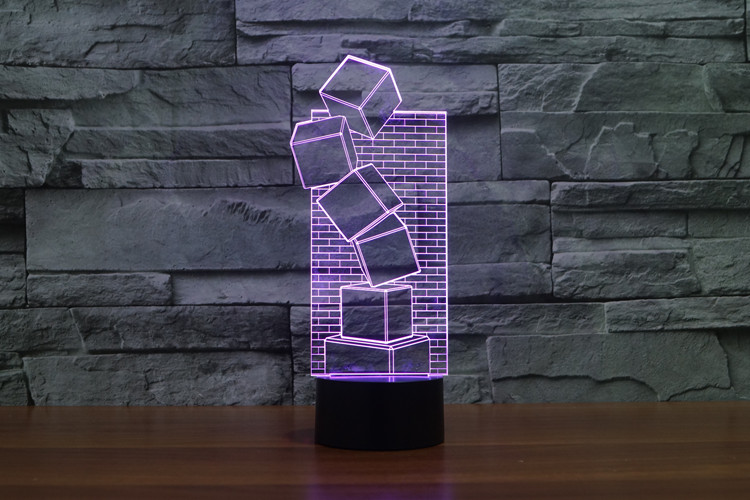 3D Visual Optical Illusion Colorful LED Table Lamp Touch Cool Style Night Light Christmas Prank Gifts Romantic Holiday Cute Creative Gadget (3)