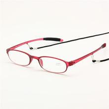 5d4124b5b93 Reading Glasses with Neck String Chain Flexible Pocket Reader Men Women +1.0  +1.5 +2.0 +2.5 +3.0 +3.5 +4.0