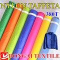 High-grade 20D Ultrafinos fabrics.380T nylon microfib jaqueta de tecido para homens e mulheres, através da água, down-prova punho.