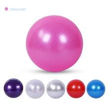 Yoga Gym Fitness Ball Glossy Matte Pilates Gymnastic Balance Exercise Core Indoo