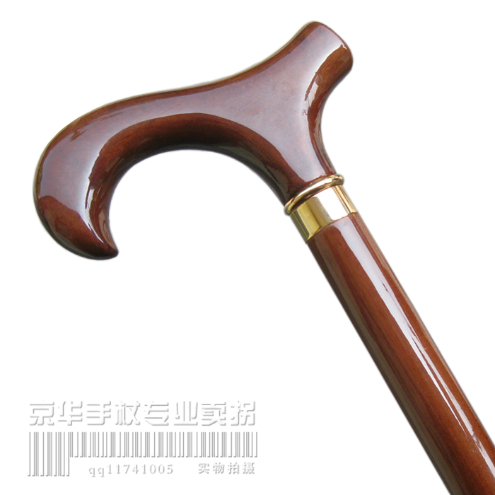 Applicable To High-grade Wood Stick Crutch Walking Stick Old Grandma And Grandpa