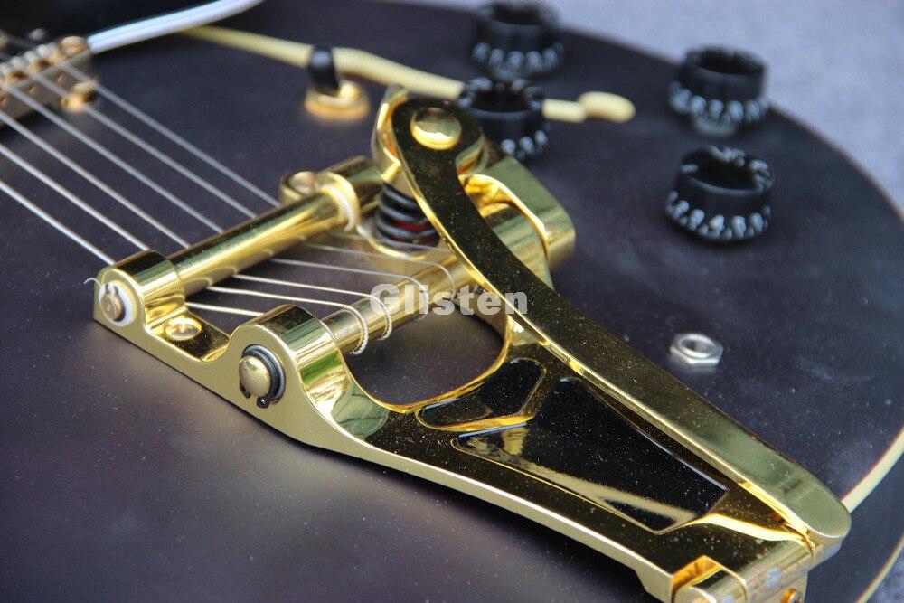 Электрический Джаз Гитары с bigsby тремоло, полого джаза тела