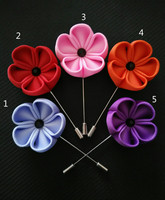 solid colors lapel flowers ,wedding party women & men's lapel boutonnieres
