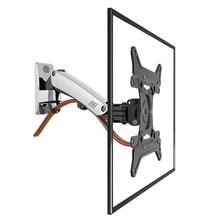 """30 """"-40"""" NB F200 Mola A Gás LED Full Motion TV LCD Na Parede Montar Titular Monitor de Rotação Retrátil Capacidade de Carga 11 ~ 22lbs (5 ~ 10kgs)"""