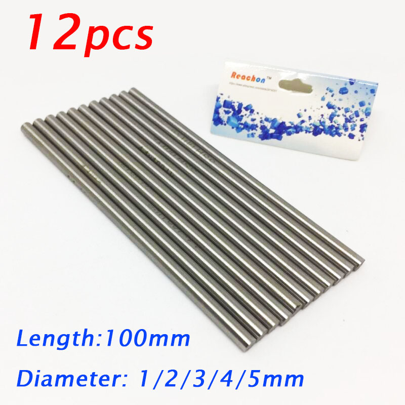 """Aluminium Round Rod Solid Stock NEW 1//4/"""" to 2/"""" Diameters /& 100mm to 1000mm Long"""